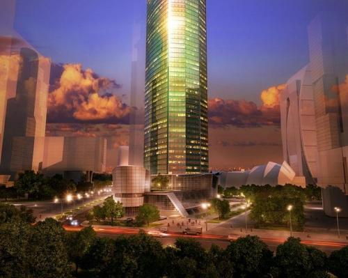 ЖК Eurasia Tower от компании MOS CITY GROUP