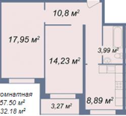 Фото планировки Дом на Овражной улице от Дружба-Монолит. Жилой комплекс