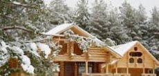Зима - самое время строить загородный дом