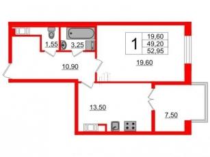 Фото планировки Петровский Квартал на воде от Setl City. Жилой комплекс