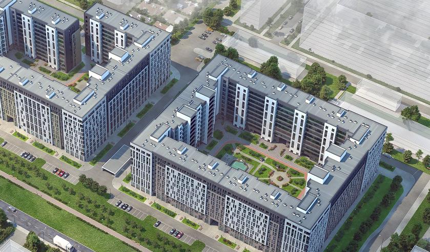 Setl Group приступила к строительству ЖК бизнес-класса «Svetlana Park»