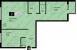 Планировка ЖК «Отрада», 28.65 м2