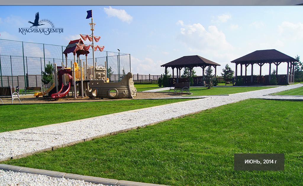 Фото коттеджного поселка Сосновый Бор от Красивая земля. Коттеджный поселок Sosnovyy Bor