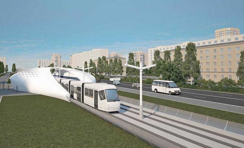 В течение недели Смольный объявит конкурс на строительство скоростного трамвая от станции «Юго-Западная» до музея-заповедника «Петергоф»