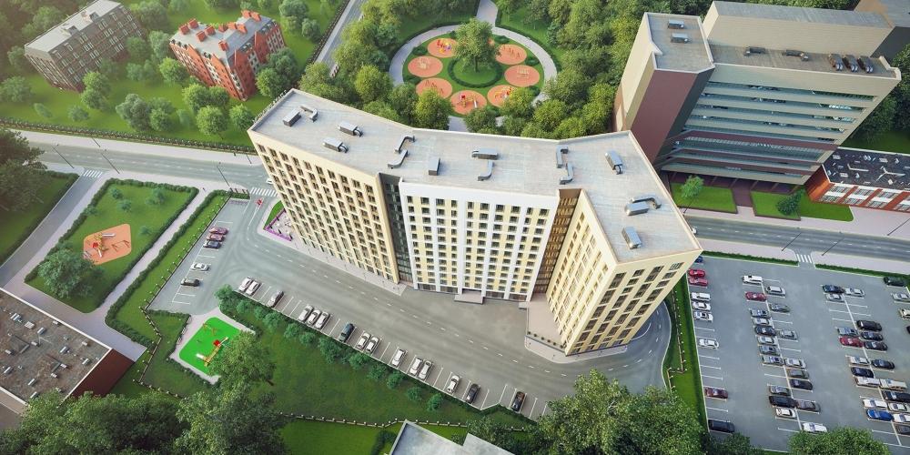 Комплекс «Nova Алексеевская» с отелем и апартаментами введут в Москве в ближайшее время