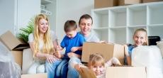 Многодетным семьям в России помогут погасить ипотеку