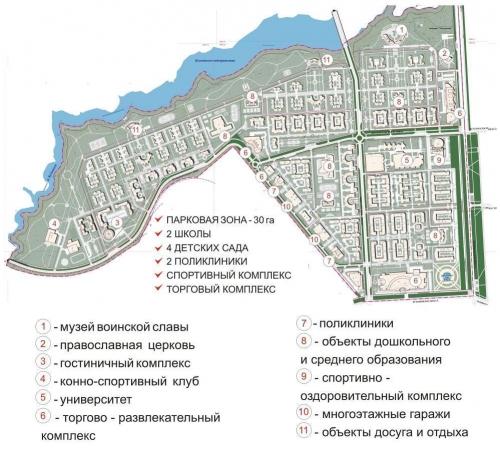 ЖК Новый жилой район Царского Села от компании Колвэй