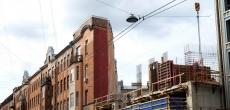 Знаменитый дом-утюг на Боровой улице скоро загородит жилая новостройка