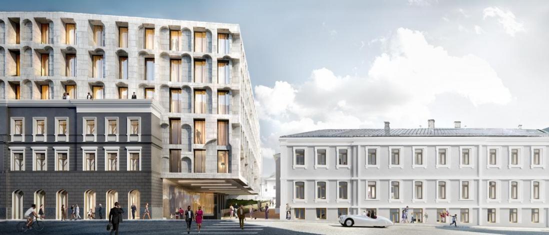 Начались работы на площадке комплекса апартаментов «Allegoria Mosca»