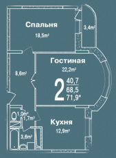 Фото планировки Лермонтовский от Стройпромавтоматика. Жилой комплекс Lermontovskiy