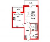 Продать Квартиры в новостройке Пулковское шоссе, лит Р  103,57 Корпус 1.3