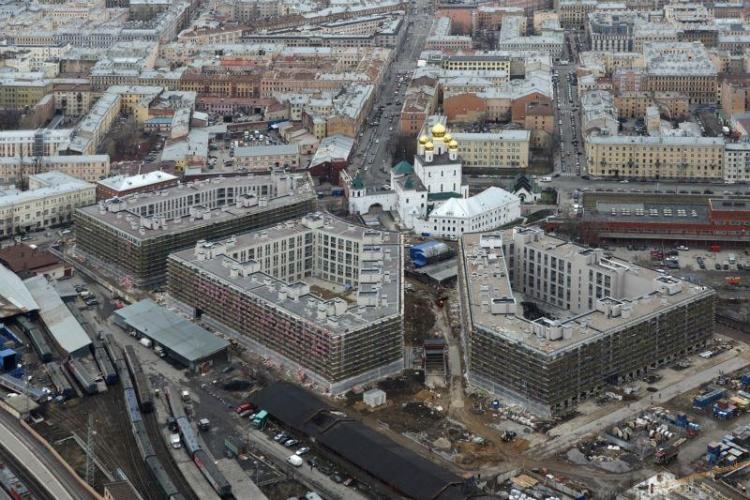 Доля предложений в новостройках комфорт-класса в центре Петербурга выросла до 57%, потеснив бизнес-класс