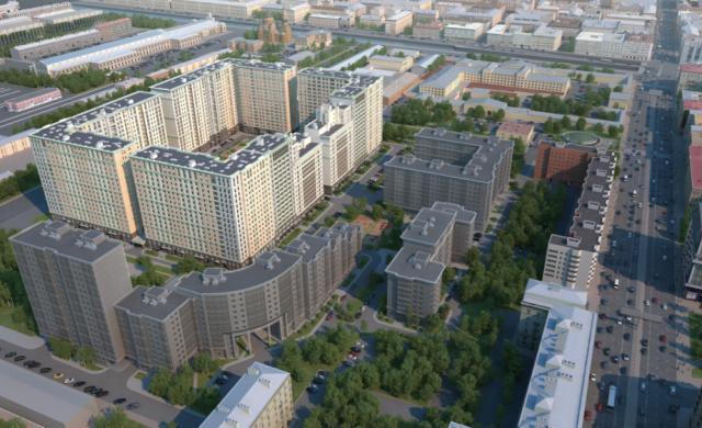 98% всего жилья в Петербурге в 2015 году построили 20 строительных компаний