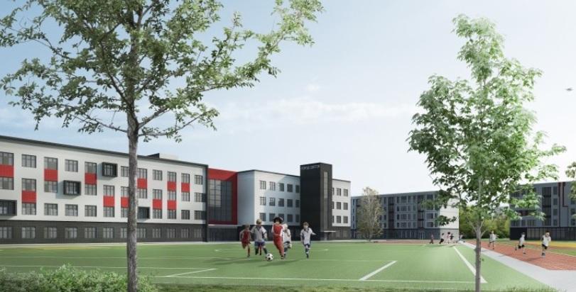 АО «Пулково цветы» представило проект своего жилого комплекса в Кокколево