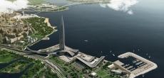 Рядом с «Лахта Центром» построят 12-этажную гостиницу для яхтсменов