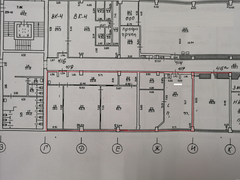 Аренда офиса Кондратьевский проспект,  д. 72