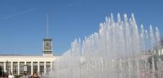 Поющие фонтаны перед Финляндским вокзалом ждет капитальный ремонт