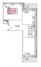 Фото планировки Преображенский квартал от ДМ Холдинг. Жилой комплекс