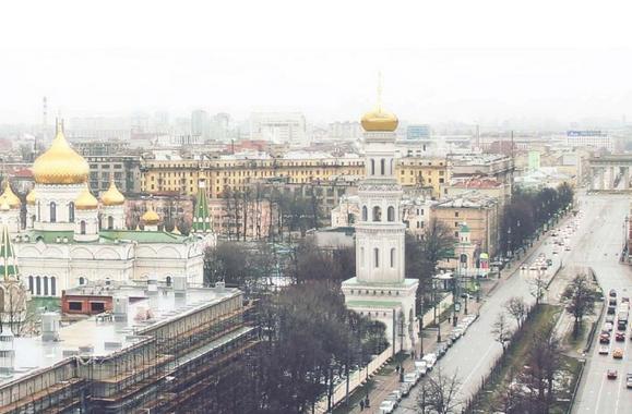 В Петербурге на Московском проспекте восстановят колокольню Новодевичьего монастыря