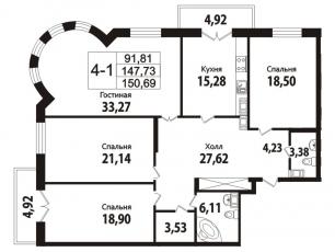 Фото планировки Дом на Кирочной от Setl City. Жилой комплекс