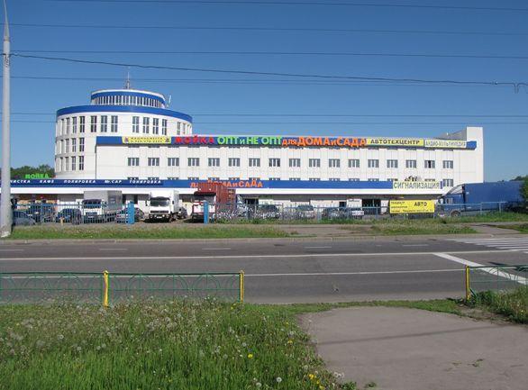 В Москве строительный ТЦ на Пятницком шоссе реконструируют в многофункциональный комплекс
