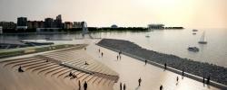 Благоустройство набережной у «Лахта центра» в Петербурге завершат до конца 2020 года
