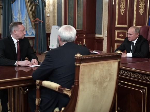 Полтавченко оставляет Петербург представителю президента