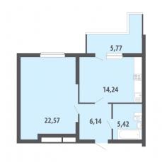 Фото планировки Две Столицы от Интергрупп. Жилой комплекс