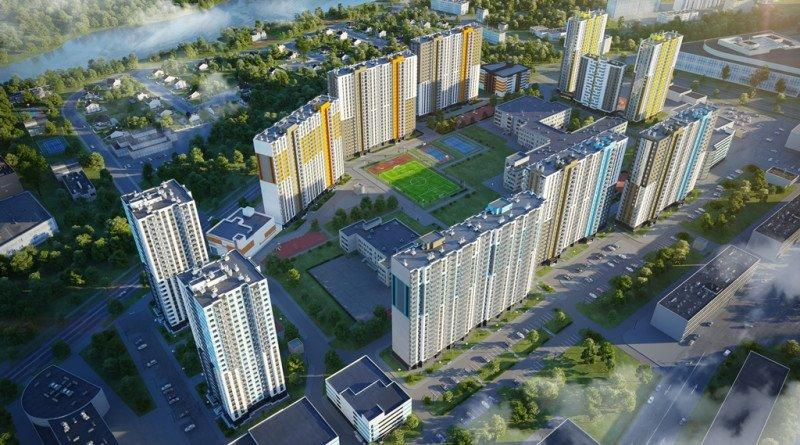 Группа ЛСР открыла продажи в новом квартале проекта «Цветной город»