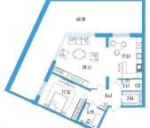 Продать Квартиры в новостройке Тореза пр-кт дом №118