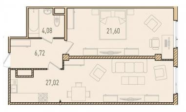 Фото планировки Парнас от П1. Жилой комплекс Parnas