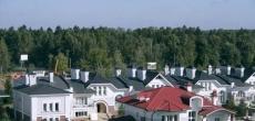 Наиболее востребованная «загородка» - коттеджи на Новой Риге