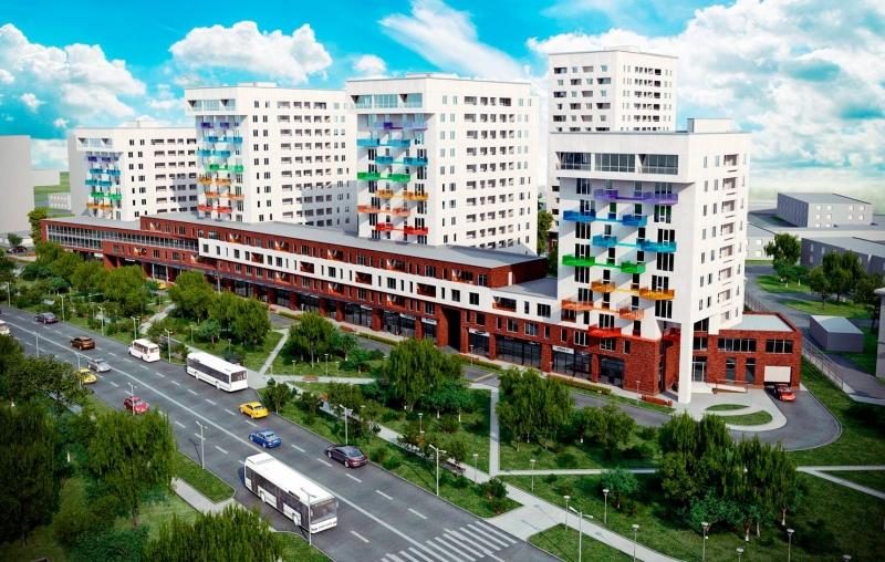 Фото ЖК Цветной бульвар от МД Техника. Жилой комплекс