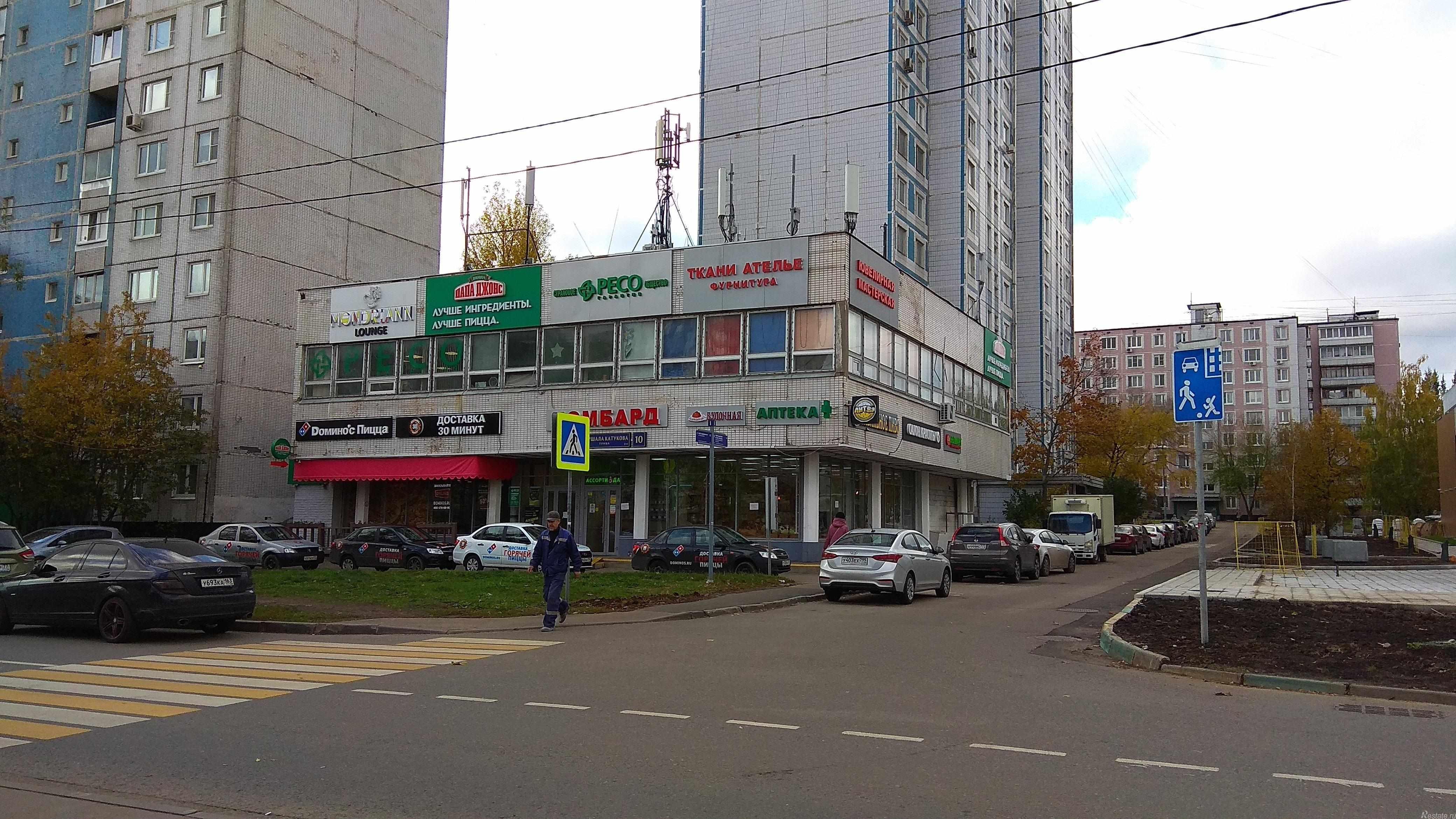 Сдать в аренду Торговые помещения Москва,  Строгино,  Строгино, Маршала Катукова ул