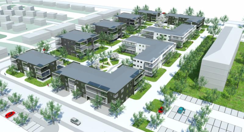 Компания «СПб Реновация» получила разрешение на строительство ЖК в поселке Песочный на землях бывшего военного городка