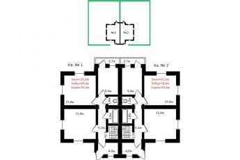 Фото планировки Виктория от ВзлетСтрой. Жилой комплекс Viktoriya