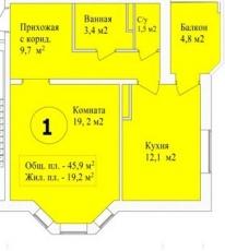 Фото планировки Морозовка от Devis. Жилой комплекс Morozovka