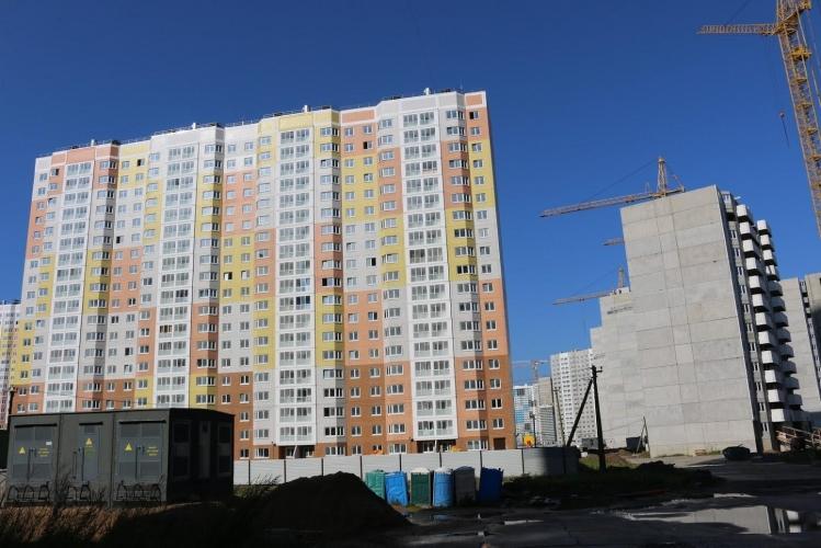 Комитет по строительству недоволен темпами достройки ЖК «Новая Каменка» в Приморском районе