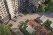 Фото ЖК Тимирязев парк от ЖК на Ивановской. Жилой комплекс