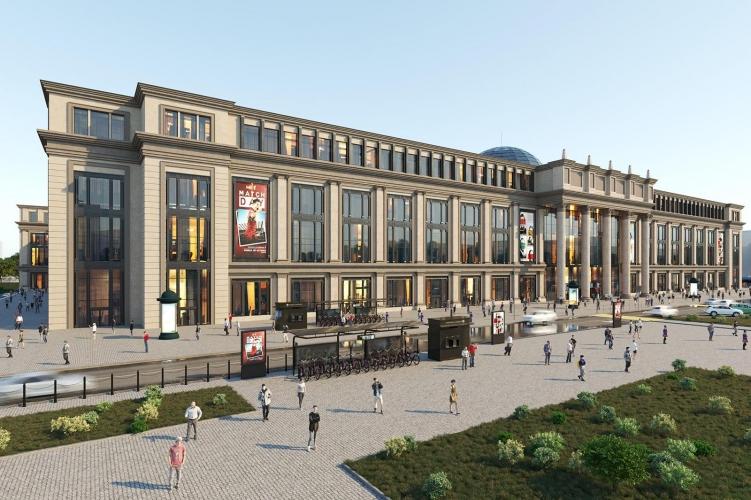 Проект МФК на Преображенской площади раскритиковали за громоздкость и чуждую Москве архитектуру