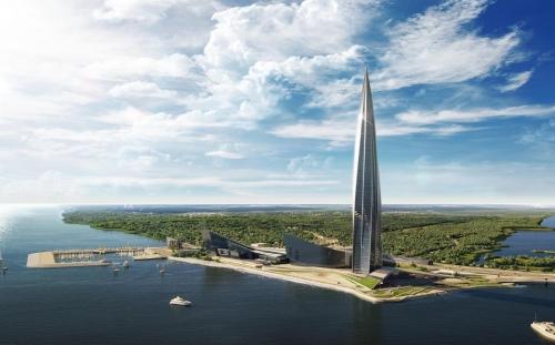 ЖК Лахта Центр от компании Газпром нефть Восточно-Европейские проекты