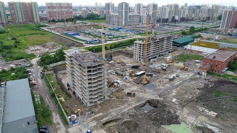 Территория бывшего завода «Самсон» обретает форму