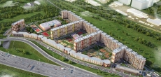 Дом в составе ЖК «Московский» на Идрицкой станет самым длинным в Петербурге