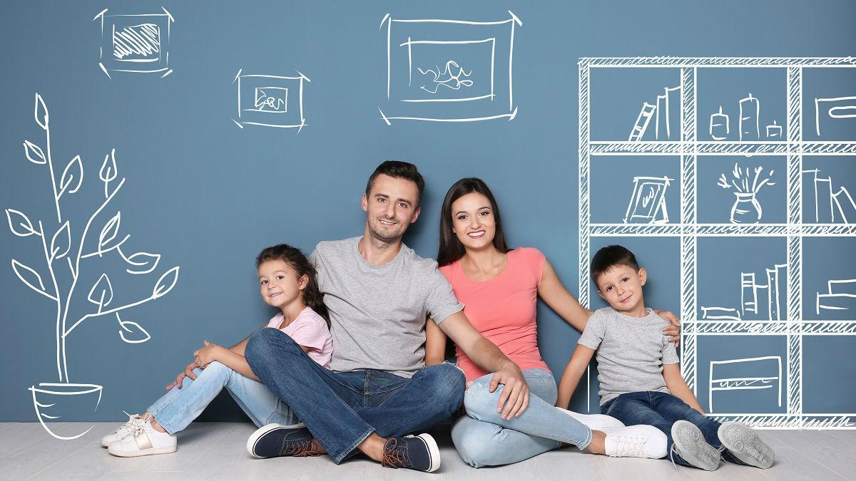 Картинки семья и банк