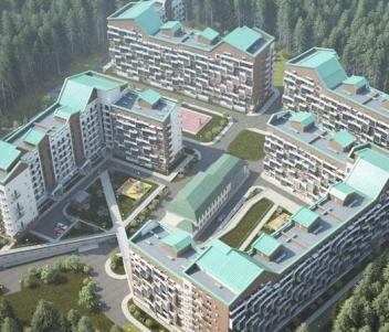жилые комплексы рядом с шереметтево