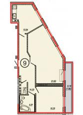 Фото планировки Дом на линии от Группа Соло. Жилой комплекс