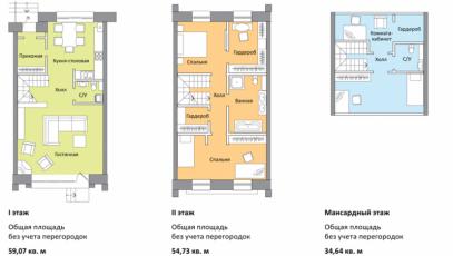 Фото планировки Кронбург от А101. Жилой комплекс Kronburg