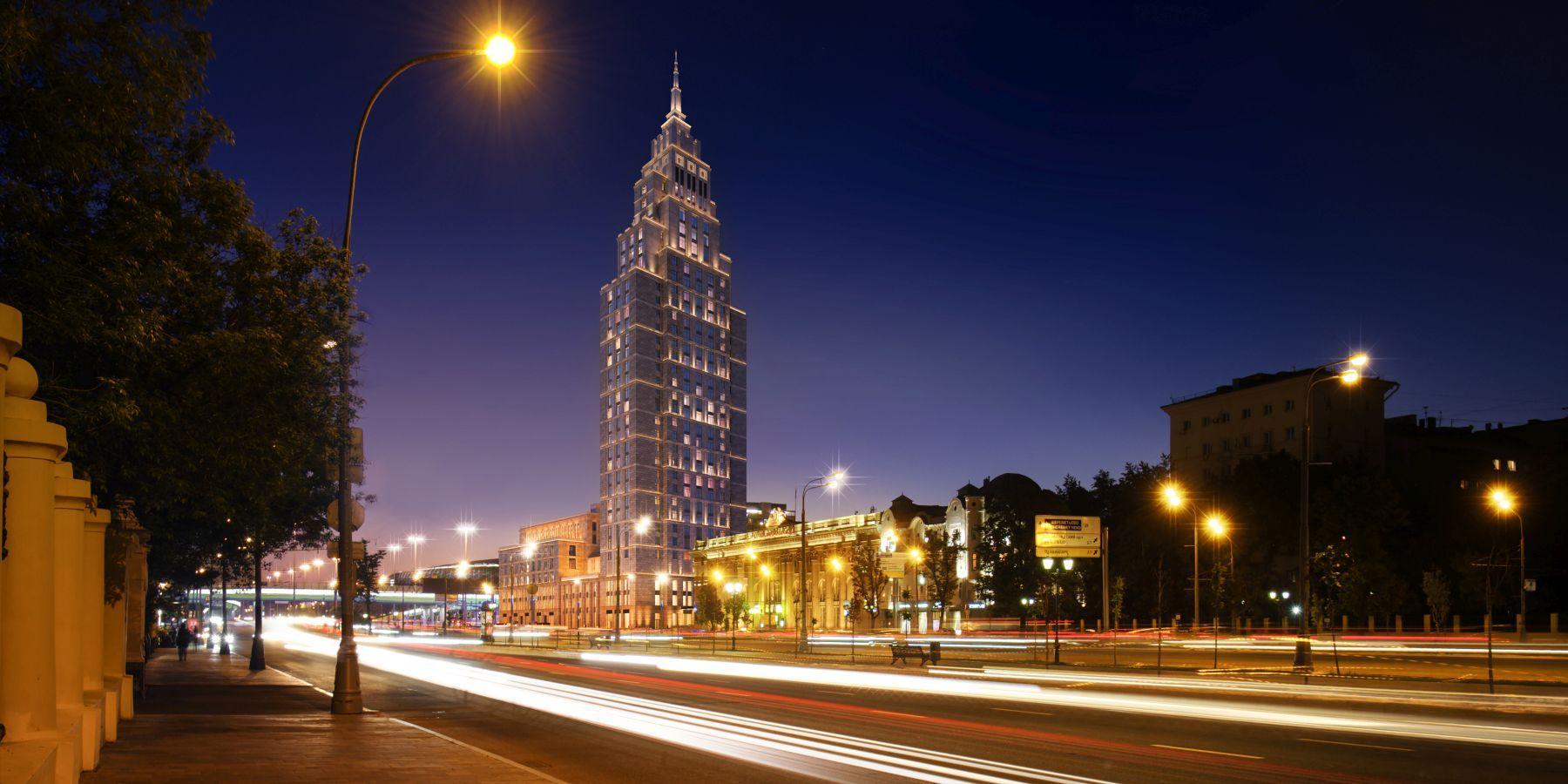 Фото ЖК Alcon Tower