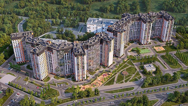 Группа «Эталон» открыла продажи квартир в новом ЖК комфорт-класса «Дом на Блюхера»