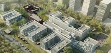 К Дню города сдадут первую очередь крупной больницы в Коммунарке